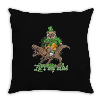 Lets Day Drink Throw Pillow Designed By Vanshop99