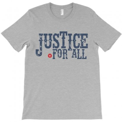 Justice For All T-shirt Designed By Designisfun