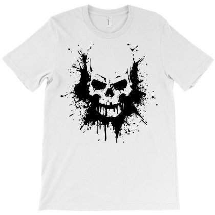 Skull And Bones T-shirt Designed By Designisfun