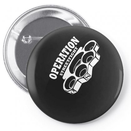 Operation Streetfight  Hools Hooligan Boxen Fight Pin-back Button Designed By Enjang