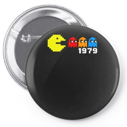 Pacman 1979 Pin-back Button Designed By Enjang