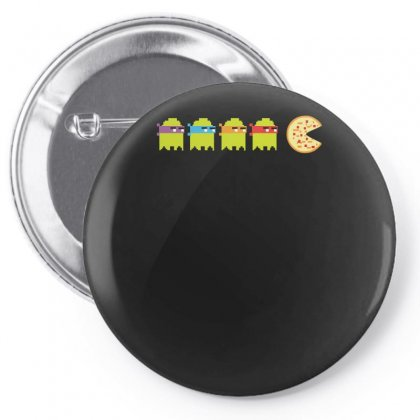 Pacturtles Pizza Pin-back Button Designed By Enjang