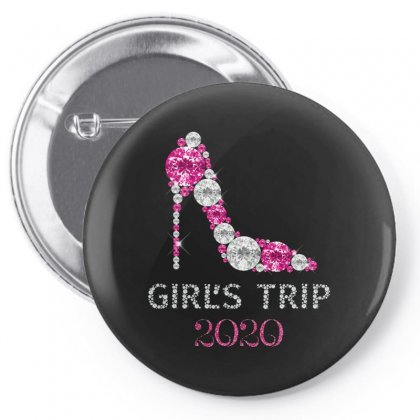 Girl's Trip 2020 Diamonds Pin-back Button Designed By Honeysuckle
