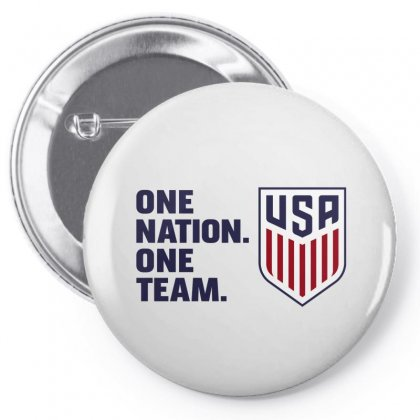 One Nation One Team Pin-back Button Designed By Honeysuckle