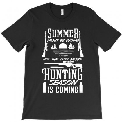 Hunting Season T-shirt Designed By Tiococacola