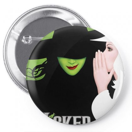 Wicked Tour Pin-back Button Designed By Gandi86