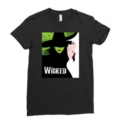 Wicked Tour Ladies Fitted T-shirt Designed By Gandi86