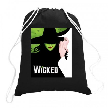 Wicked Tour Drawstring Bags Designed By Gandi86