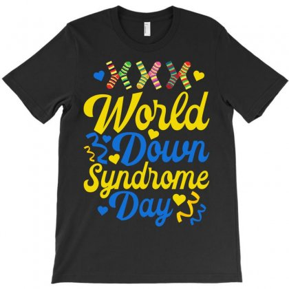 World Down Syndrome Day T-shirt Designed By Neset