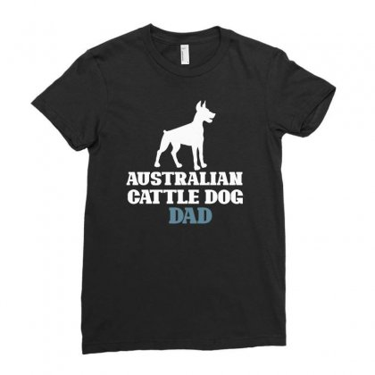 Australian Cattle Dog Ladies Fitted T-shirt Designed By Bettercallsaul