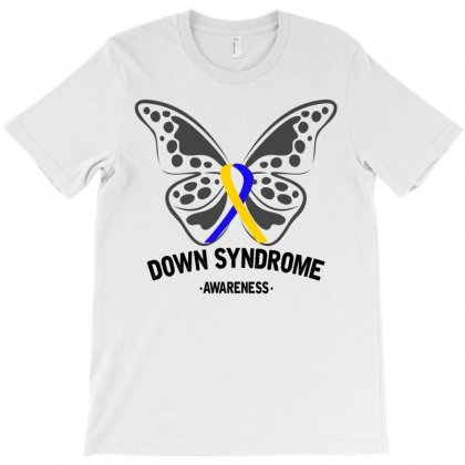 Down Syndrome Awareness For Light T-shirt Designed By Neset