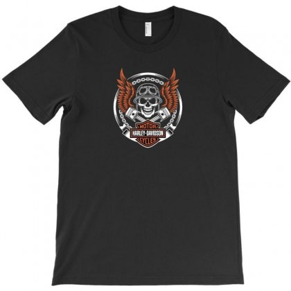 Harley T-shirt Designed By Disgus_thing