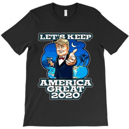 Let's Keep America Great 2020 / Baby Jumpsuit T-shirt Designed By Tiococacola