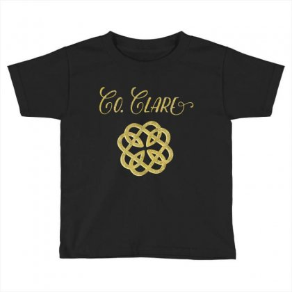 County Clare Ireland Heritage T Shirt, Saint Patrick's Day Toddler T-shirt Designed By Hoainv