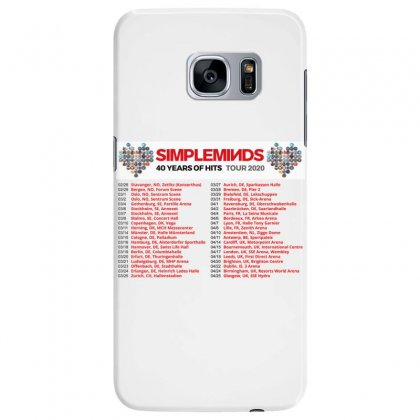 Custom Dates 2020 40 Years Of Hits Simpleminds Samsung Galaxy S7 Edge Case Designed By Nugrahadamanik