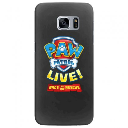Race To The Rescue Paw Patrol Badge Samsung Galaxy S7 Edge Case Designed By Nugrahadamanik