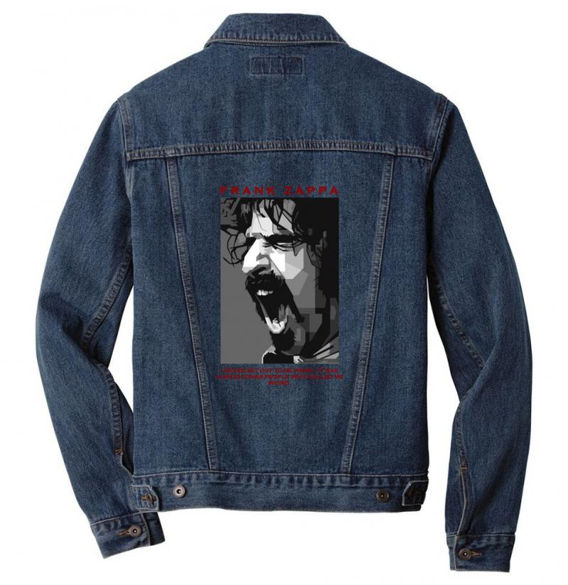 Frank Zappa 1 Men Denim Jacket | Artistshot