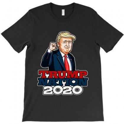 Trump Nation 2020 T-shirt Designed By Tiococacola