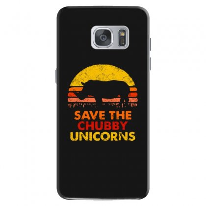 Save The Chubby Unicorns Samsung Galaxy S7 Case Designed By Tht