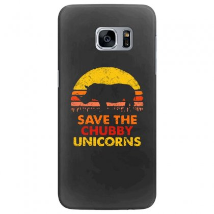 Save The Chubby Unicorns Samsung Galaxy S7 Edge Case Designed By Tht