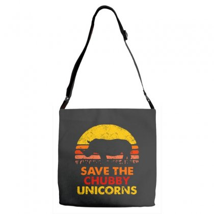 Save The Chubby Unicorns Adjustable Strap Totes Designed By Tht