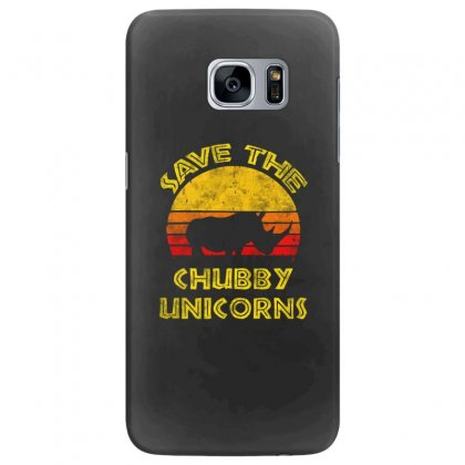 Save The Chubby Unicorns 2019 Samsung Galaxy S7 Edge Case Designed By Tht