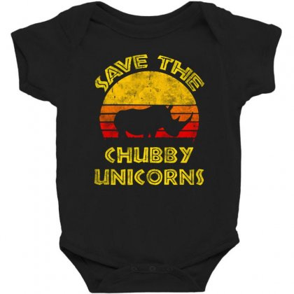Save The Chubby Unicorns 2019 Baby Bodysuit Designed By Tht