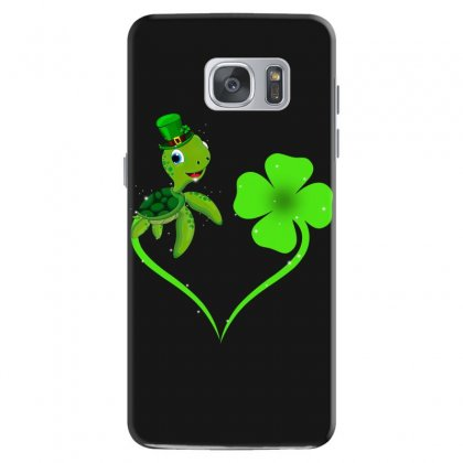 Four Leaf Clovers St Patricks Day Gift  Lucky Lucky Turtle Samsung Galaxy S7 Case Designed By Hoainv