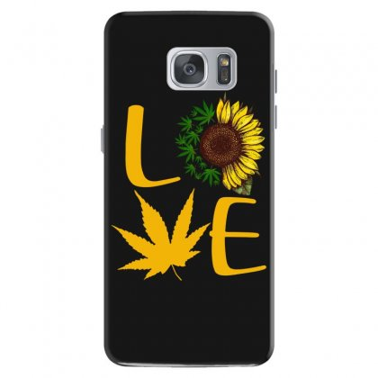 Love Sunflower Samsung Galaxy S7 Case Designed By Hoainv