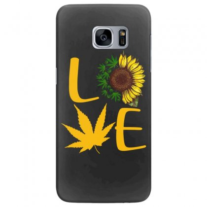 Love Sunflower Samsung Galaxy S7 Edge Case Designed By Hoainv