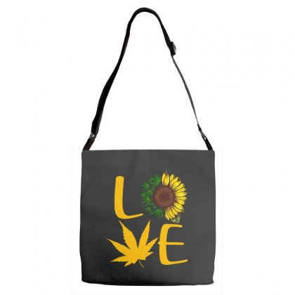 Love Sunflower Adjustable Strap Totes Designed By Hoainv
