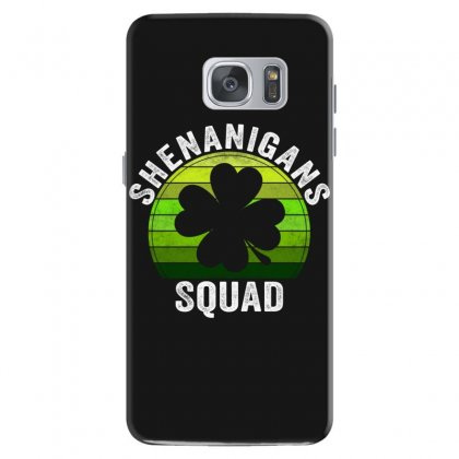 Shenanigans Squad 4 Clover Shamrocks Love  St. Patrick's Day Gift Samsung Galaxy S7 Case Designed By Hoainv