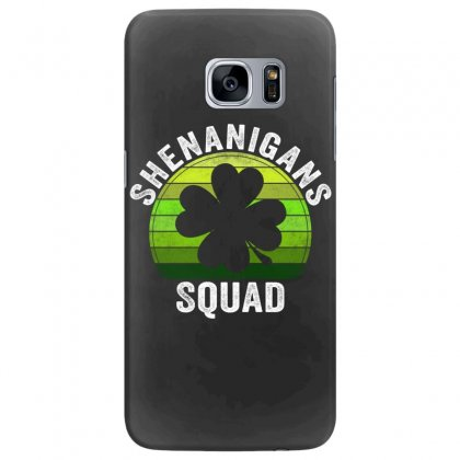 Shenanigans Squad 4 Clover Shamrocks Love  St. Patrick's Day Gift Samsung Galaxy S7 Edge Case Designed By Hoainv