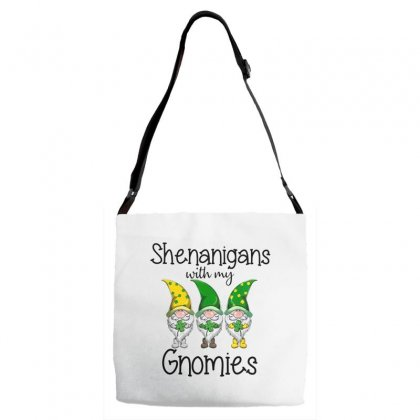 Shenanigans With My Gnomies Adjustable Strap Totes Designed By Hoainv