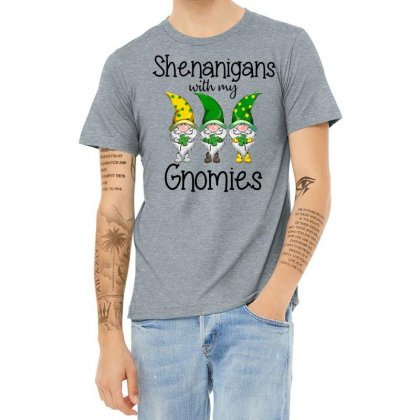 Shenanigans With My Gnomies Heather T-shirt Designed By Hoainv