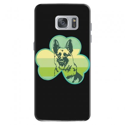 Three  Leaf Clovers St. Patrick's Day Gift  Lucky German Shepherd Dog Samsung Galaxy S7 Case Designed By Hoainv