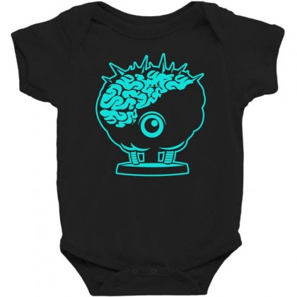 Brinstar Brains Baby Bodysuit Designed By S4bilal