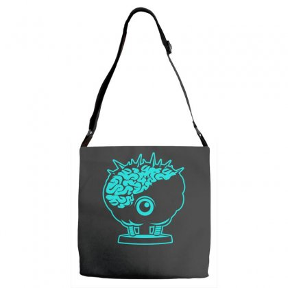 Brinstar Brains Adjustable Strap Totes Designed By S4bilal