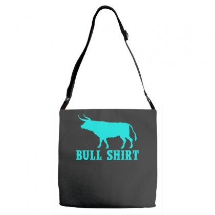 Bull Shirt Adjustable Strap Totes Designed By S4bilal