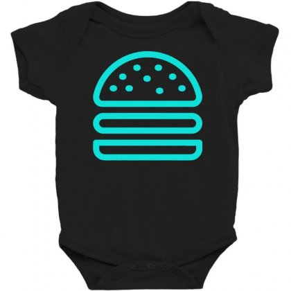 Burger Tee Baby Bodysuit Designed By S4bilal