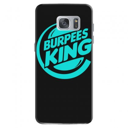 Burpees King Samsung Galaxy S7 Case Designed By S4bilal