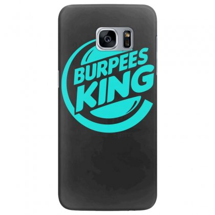 Burpees King Samsung Galaxy S7 Edge Case Designed By S4bilal
