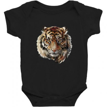 Tiger Baby Bodysuit Designed By Asatya