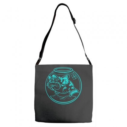 Catfish Adjustable Strap Totes Designed By S4bilal