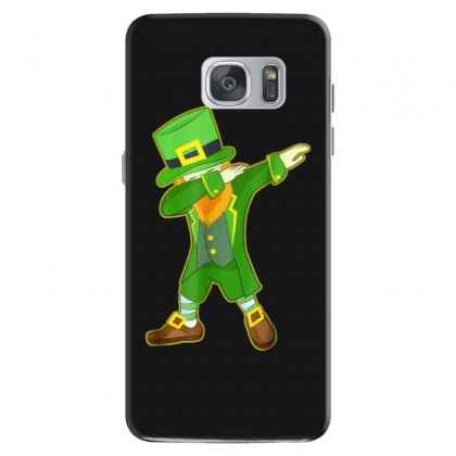 Dabbing Leprechaun Shirt   Funny St. Patrick's Day T Shirt Samsung Galaxy S7 Case Designed By Hoainv
