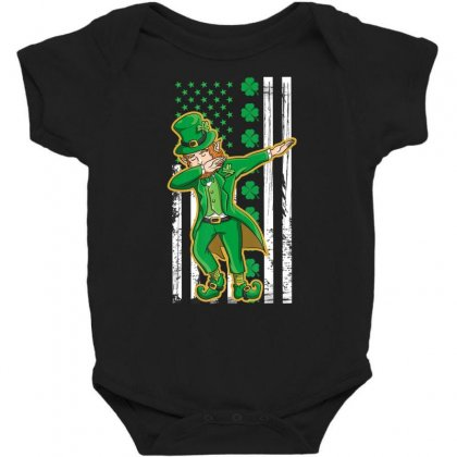 Dabbing Leprechaun Shirt   St Patricks Day Tshirt Gift Baby Bodysuit Designed By Hoainv