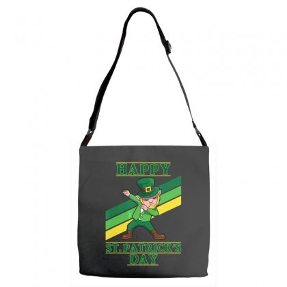 Dabbing Leprechaun Shirt Boys Kids St Patricks Day Shirts Adjustable Strap Totes Designed By Hoainv