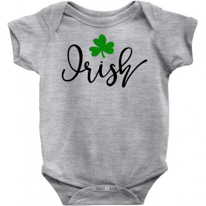 Irish, St Patrick's Day Baby Bodysuit Designed By Theblackcatprints
