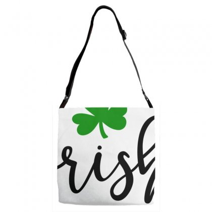 Irish, St Patrick's Day Adjustable Strap Totes Designed By Theblackcatprints