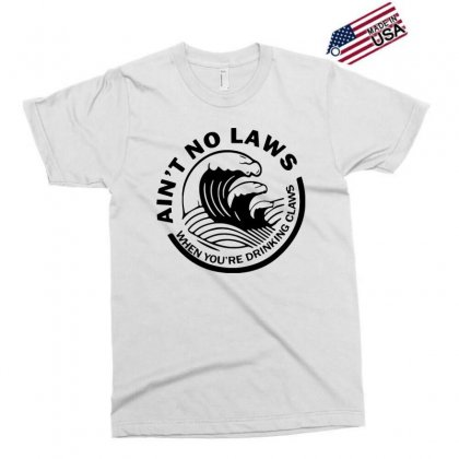 Black Ain't No Laws When Your Drinking' Claws Exclusive T-shirt Designed By Swan Tees